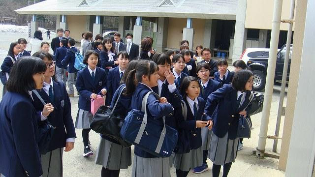入学式 | 米沢市立第五中学校