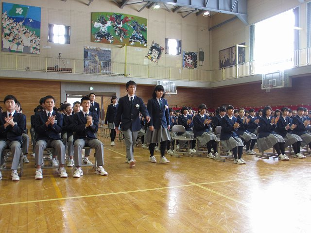 卒業式 | 米沢市立第五中学校