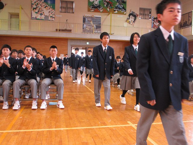 平成30年度 入学式 | 米沢市立第五中学校
