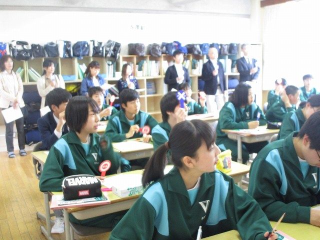 平成30年度 3学年 授業参観 | 米沢市立第五中学校
