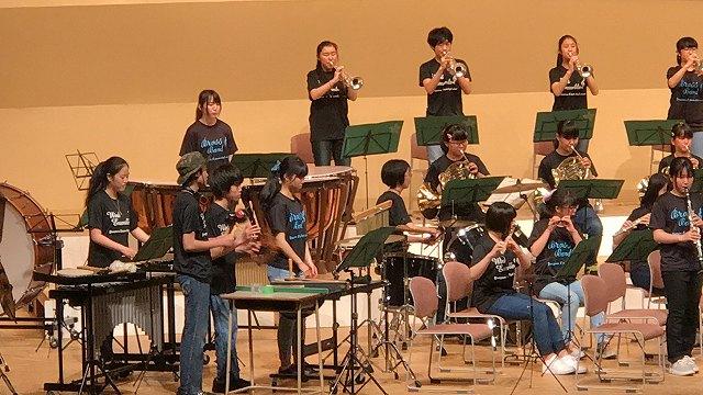 米沢市立第五中学校5月24日 定期演奏会メニュー