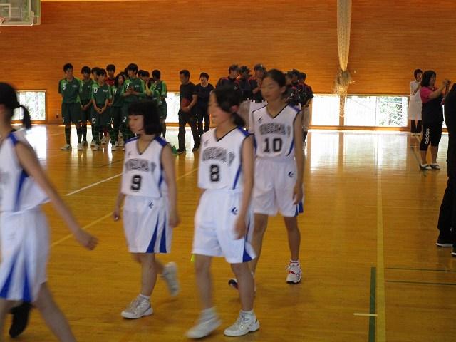 米沢市立第五中学校壮行式メニュー
