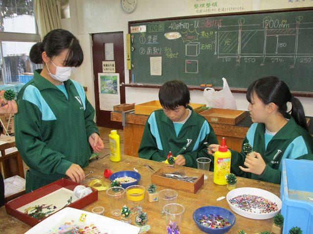 米沢市立第五中学校松ぼっくりボランティアメニュー